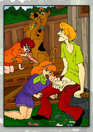 scooby the sadie brothers mae doo meets boo Josie and the pussycats hentai