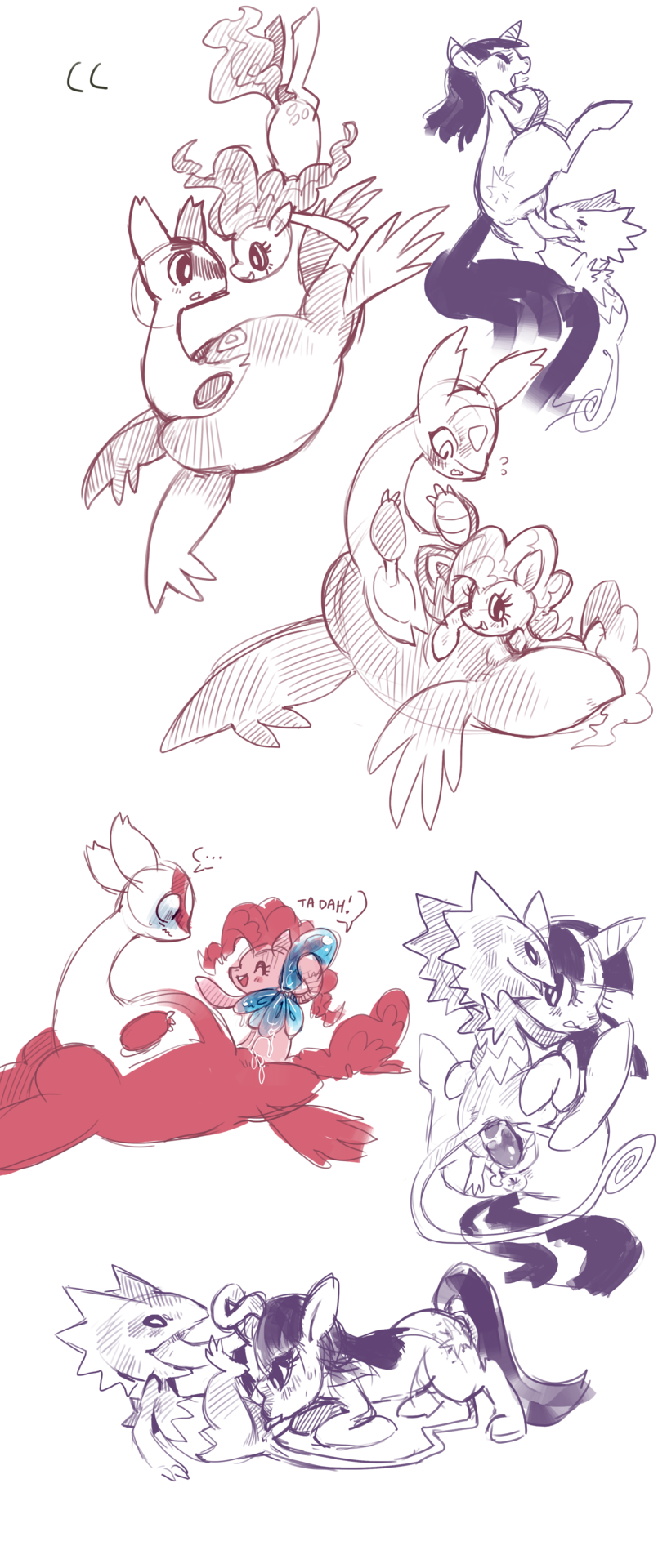allister pokemon is old how Flo all dogs go to heaven
