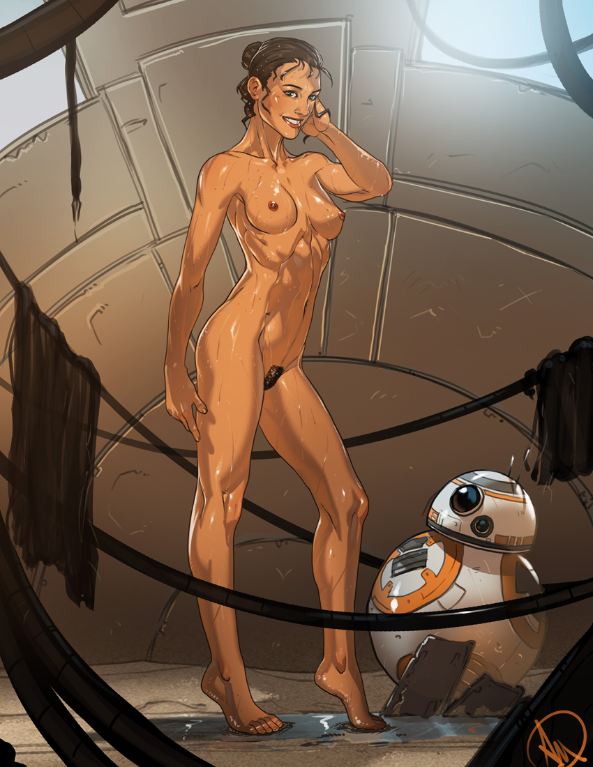 rey force porn awakens star the wars Angel from lilo and stitch