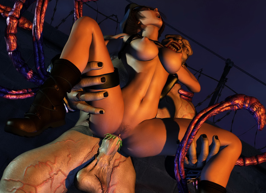 evil jill 3 panties resident Overly sarcastic productions red and blue