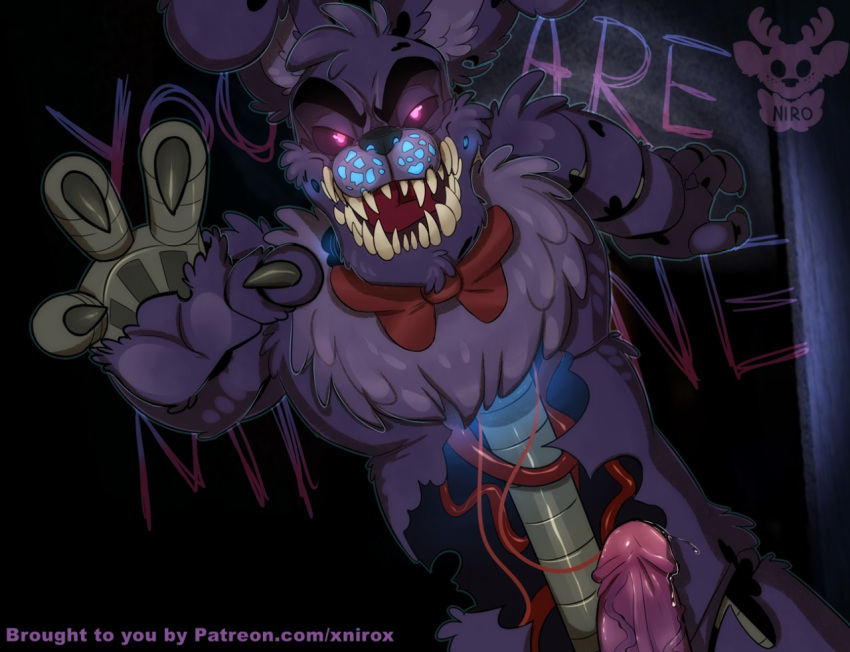how draw fnaf to 4 nightmare Rick and morty