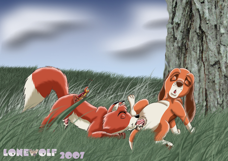 and fox the chief hound the Dragon ball z nude pic