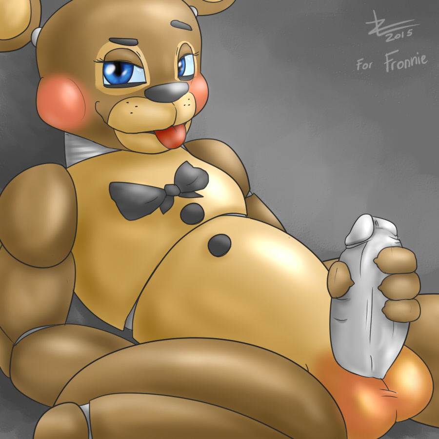 freddy at animated five night Sneefee black and blue comic